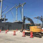 Heavy Landing Zone Repairs